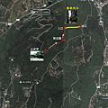 大崗山盤龍峽谷Map