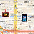 北極星蛋包飯大阪心齋橋本店Map