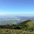 面天山往西南眺望台北盆地