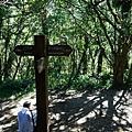 09:20面天山登山口岔路