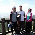12:00登頂大屯主峰觀景台(H1076m)