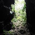 蓮花洞步道旁入口