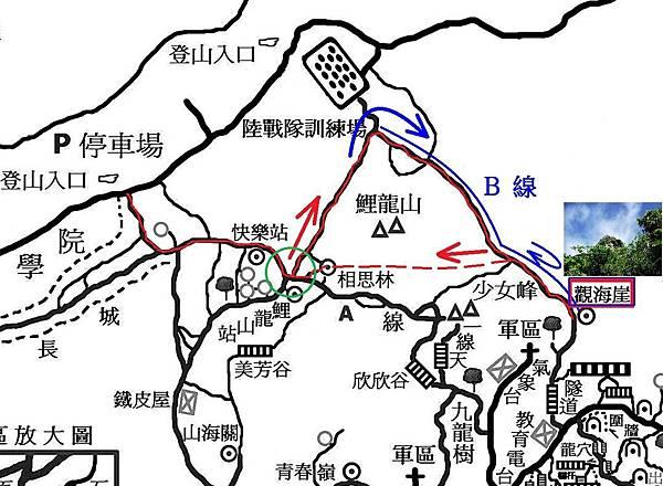 柴山神圖探秘Map