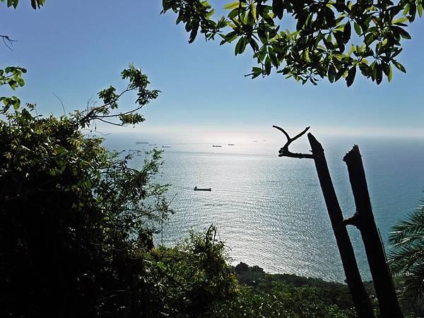 B線後段上眺望台灣海峽