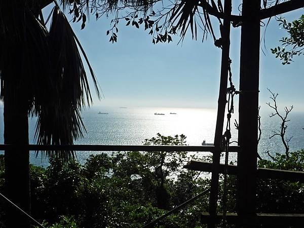 鯉龍山站看海