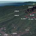 黃金稜線GPS煙囪稜O型Map