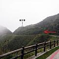 茶壺山登山口轉往朝天亭方向