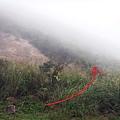 前往煙囪稜山徑入口