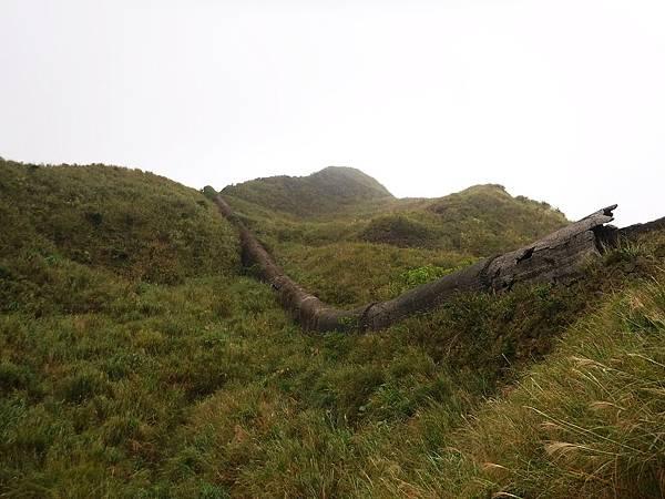 「長仁三號煙管」如巨蟒攀山