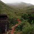 小空地旁山徑入口