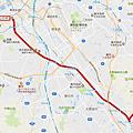 西鐵太宰府觀光列車旅人號路線Map