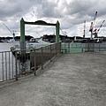 巖流島碼頭棧橋