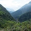 展望峽谷風景