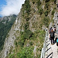 進入錐麓大斷崖