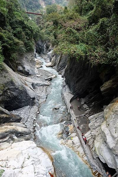 俯瞰文山溫泉峽谷
