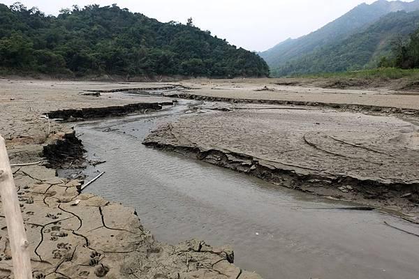 南化水庫枯水期