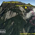 沙巴神山GPS
