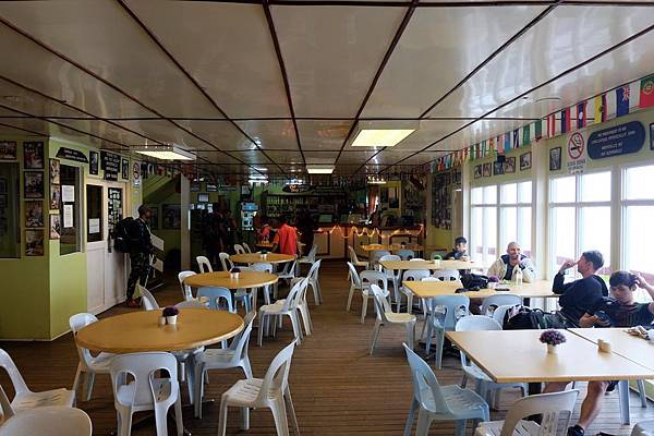 Laban Rata一樓大廳和販賣部