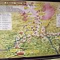 精美的沙巴神山登山路線地圖