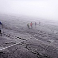 沙巴神山頂上的攀岩索道