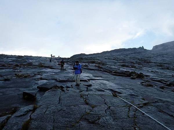 攀岩攻頂方向