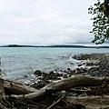 蛇島望迪加島方向