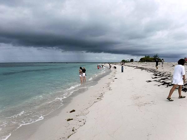 白沙島白色沙灘