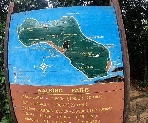 迪加島Map