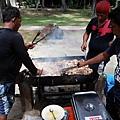 大量海鮮BBQ