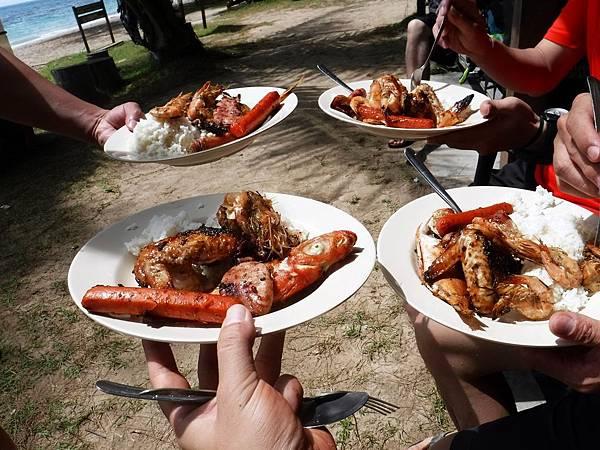 午餐:海陸雙拼BBQ