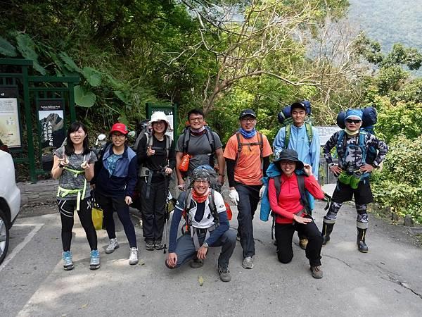 山風登山口(0K,H550m)
