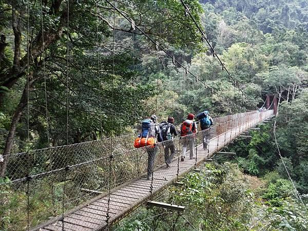 黃麻一號吊橋(9.5K)