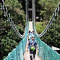 行經山風一號吊橋