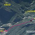 瑪家秘境探路獅王瀑布GPS地圖