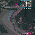 飛龍瀑布GPS路線地圖