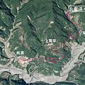 桃源區公所往長龍瀑布GPS地圖