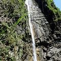 長龍瀑布水落(側面)