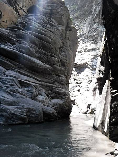 離開峽谷入口