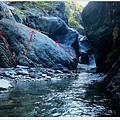 失魂峽谷徒手攀岩路線示意圖