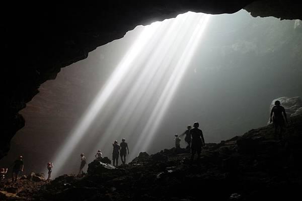 抵達Grubug Cave