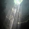 Grubug Cave射下美麗光柱
