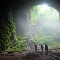 返回Jomblang Cave底部
