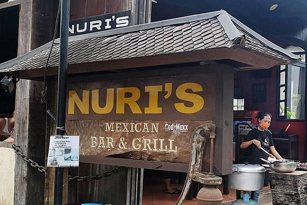 Nuri's Mexican Bar & Grill招牌