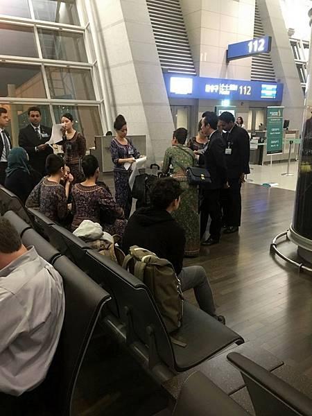 Gate 112@仁川機場