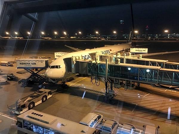 新航SQ7波音777-300ER@仁川機場
