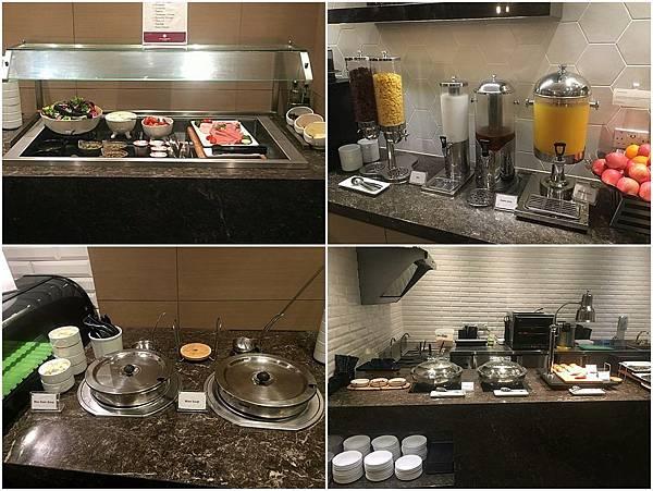 供應食物@樟宜機場環亞貴賓室