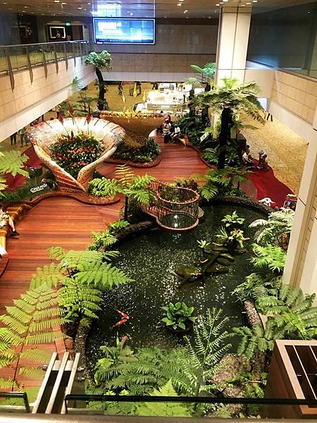樟宜機場2航廈室內花園