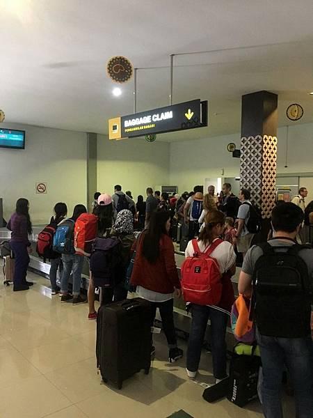 行李提領處@日惹機場