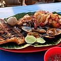 金巴蘭沙灘夕陽海鮮BBQ