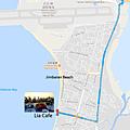 金巴蘭LIA CAFE位置Map